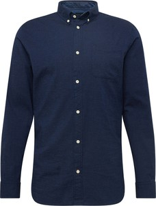 Koszula Jack & Jones z bawełny z kołnierzykiem button down z długim rękawem