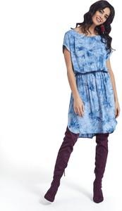 Sukienka Ennywear mini oversize z tkaniny