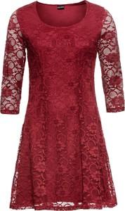 Czerwona sukienka bonprix BODYFLIRT