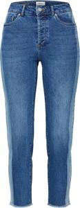 Niebieskie jeansy Only z jeansu w street stylu