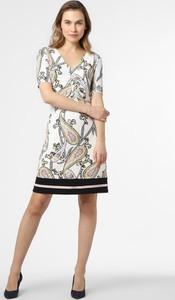 Sukienka S.Oliver Black Label z krótkim rękawem z dekoltem w kształcie litery v