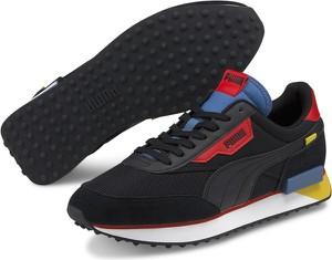 Czarne buty sportowe Puma z zamszu