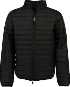 Czarna kurtka Canadian Peak w stylu casual