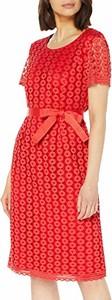 Sukienka amazon.de midi z krótkim rękawem w stylu casual