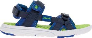 Granatowe buty dziecięce letnie Kamik