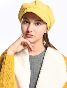 Żółta czapka Gate