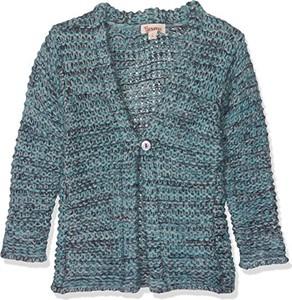 Niebieski sweter Brums z dzianiny
