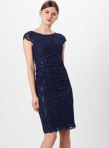 Sukienka Swing z okrągłym dekoltem z krótkim rękawem