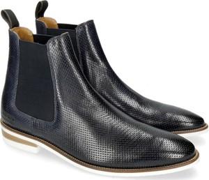 Czarne buty zimowe Melvin & Hamilton