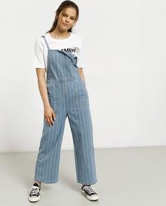 Niebieskie spodnie RVCA z bawełny