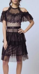 22831376ac czarna sukienka z tiulem - stylowo i modnie z Allani