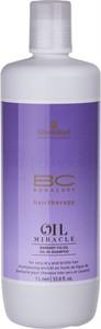 Schwarzkopf BC Oil Miracle Barbary | Szampon do włosów suchych i zniszczonych 1000ml - Wysyłka w 24H!