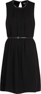 Czarna sukienka Liu-Jo bez rękawów w stylu casual mini