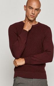 Czerwony sweter Medicine z dzianiny w stylu casual