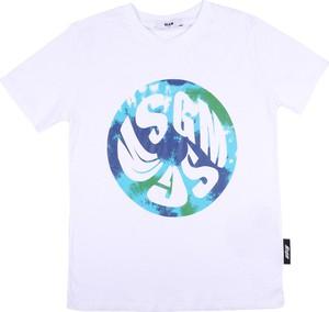 Koszulka dziecięca MSGM z bawełny
