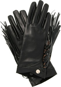 Czarne rękawiczki Liu-Jo