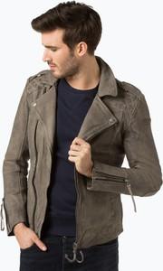 Brązowa kurtka Tigha w stylu casual