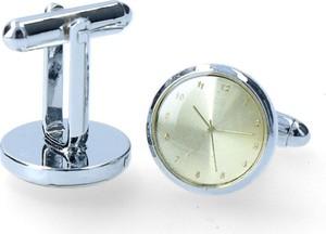 Dobrze Dodane spinka zegarki ze wskazówkami ecru
