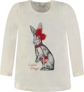 Bluzka dziecięca Königsmühle z bawełny z długim rękawem dla dziewczynek