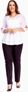 Bluzka M&sz z długim rękawem z okrągłym dekoltem