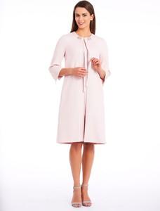 Różowy płaszcz POTIS & VERSO