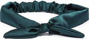 Bohomoss Opaska do włosów z kokardką zielony
