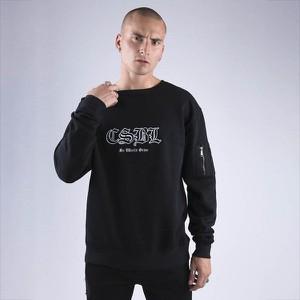 Czarna bluza Cayler & Sons w młodzieżowym stylu