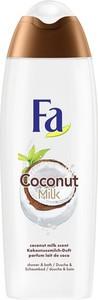 Fa, Coconut Milk Shower Cream, kremowy żel pod prysznic o zapachu kokosa, 750 ml