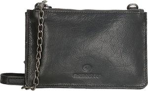 Czarna torebka Micmacbags na ramię średnia