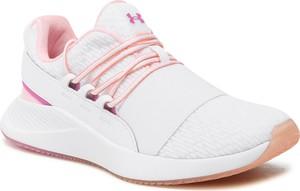 Buty sportowe Under Armour sznurowane w sportowym stylu z płaską podeszwą