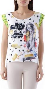 T-shirt Olivia Hops z krótkim rękawem
