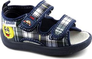 Buty dziecięce letnie American Club z tkaniny