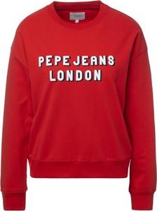Bluza Pepe Jeans w młodzieżowym stylu krótka