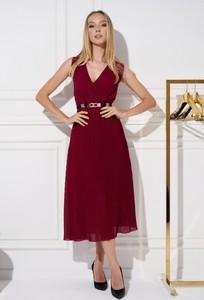 Sukienka Ella Boutique z dekoltem w kształcie litery v maxi