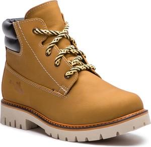 Brązowe buty zimowe RenBut