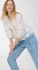 Niebieskie jeansy ORSAY w stylu casual z jeansu