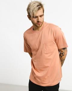 Różowy t-shirt Element z bawełny