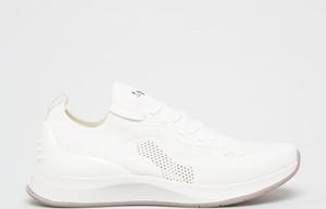 Buty sportowe Tamaris z płaską podeszwą sznurowane