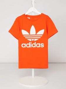 Pomarańczowa koszulka dziecięca Adidas Originals