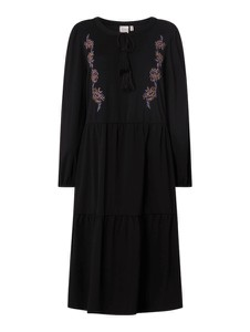 Czarna sukienka Junarose