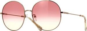 Żółte okulary damskie Chloe