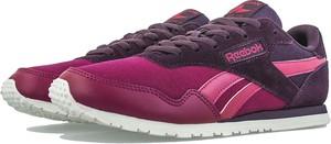 Różowe buty sportowe Reebok z płaską podeszwą