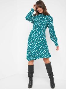 Sukienka ORSAY asymetryczna mini z długim rękawem