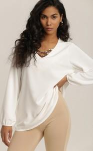 Bluzka Renee z dekoltem w kształcie litery v z długim rękawem