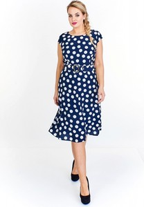 Sukienka Iwa midi w stylu casual
