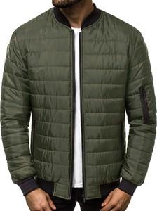 Zielona kurtka J.STYLE w stylu casual