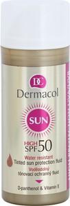 Dermacol Water Resistant Tinted Sun Protection Fluid | Wodoodporny podkład z filtrem SPF 50 z pompką 50ml - Wysyłka w 24H!