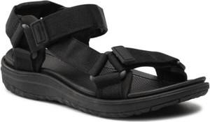Czarne sandały Sprandi w stylu casual
