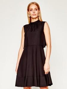 Czarna sukienka Red Valentino bez rękawów mini