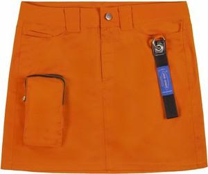 Pomarańczowa spódnica LOCAL HEROES w stylu casual mini
